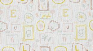 Piquê Coleção Baby - Alphabet