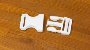 Fecho de Mochila 3cm | Preto/ ou Branco