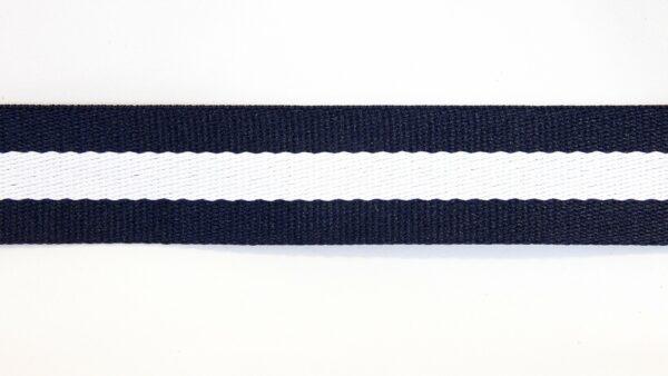 Percinta Azul Marinho - Branco