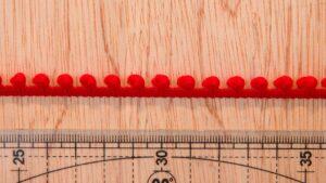 Mini Pompom - Vermelho