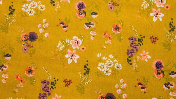 Resinado - Floral Ocre