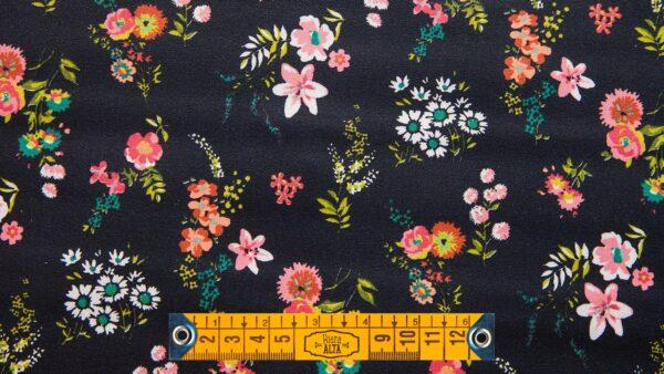 Resinado - Floral Preto