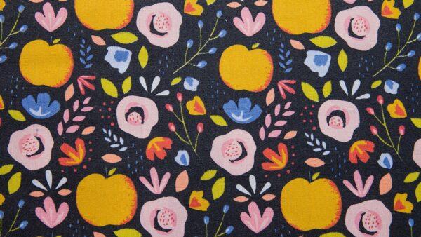 Resinado - Frutifloral Azul Marinho