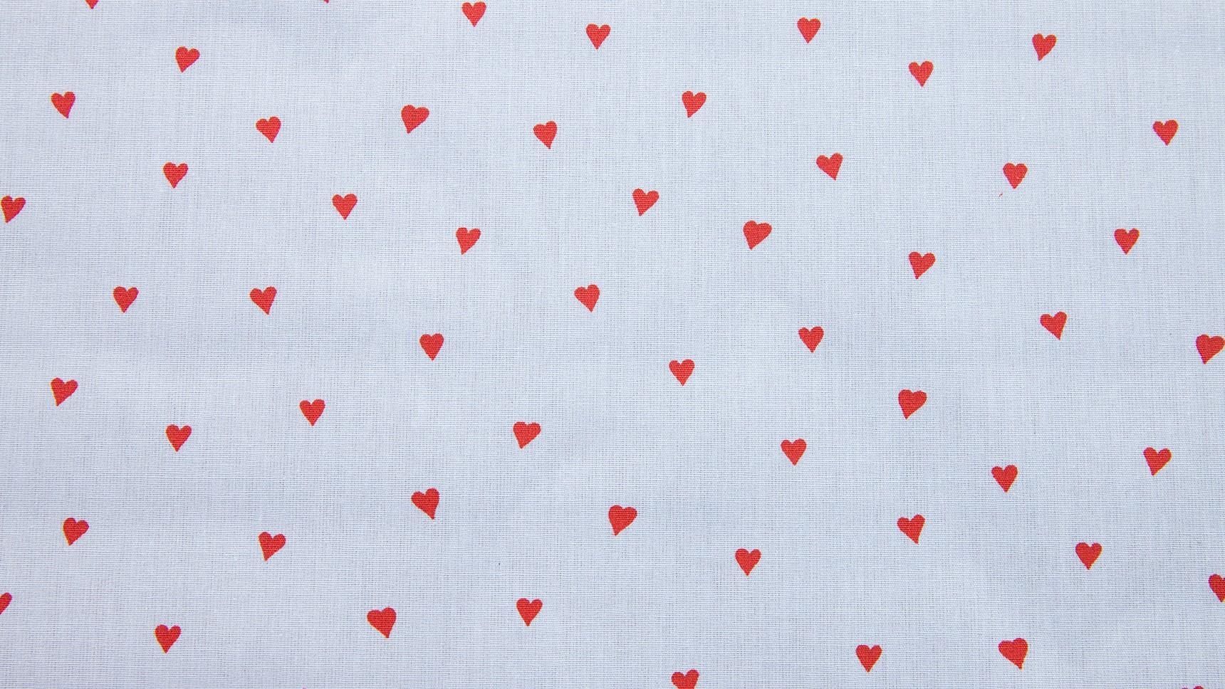 Resinado - Corações Azul/ Vermelho