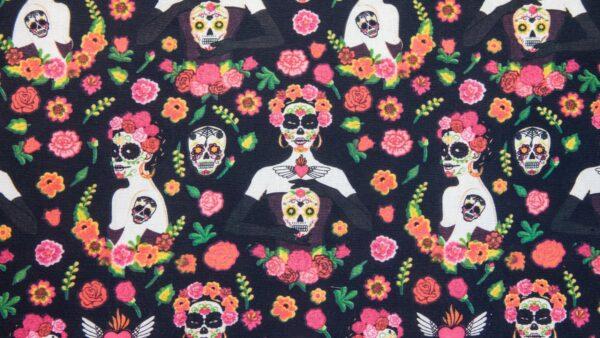 Dia dos Mortos em Preto