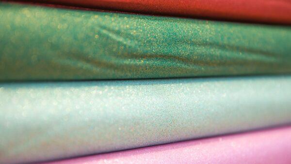 Tecido Brilhante - Glitter | Vermelho