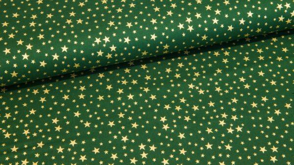 Estrelas Douradas - Verde