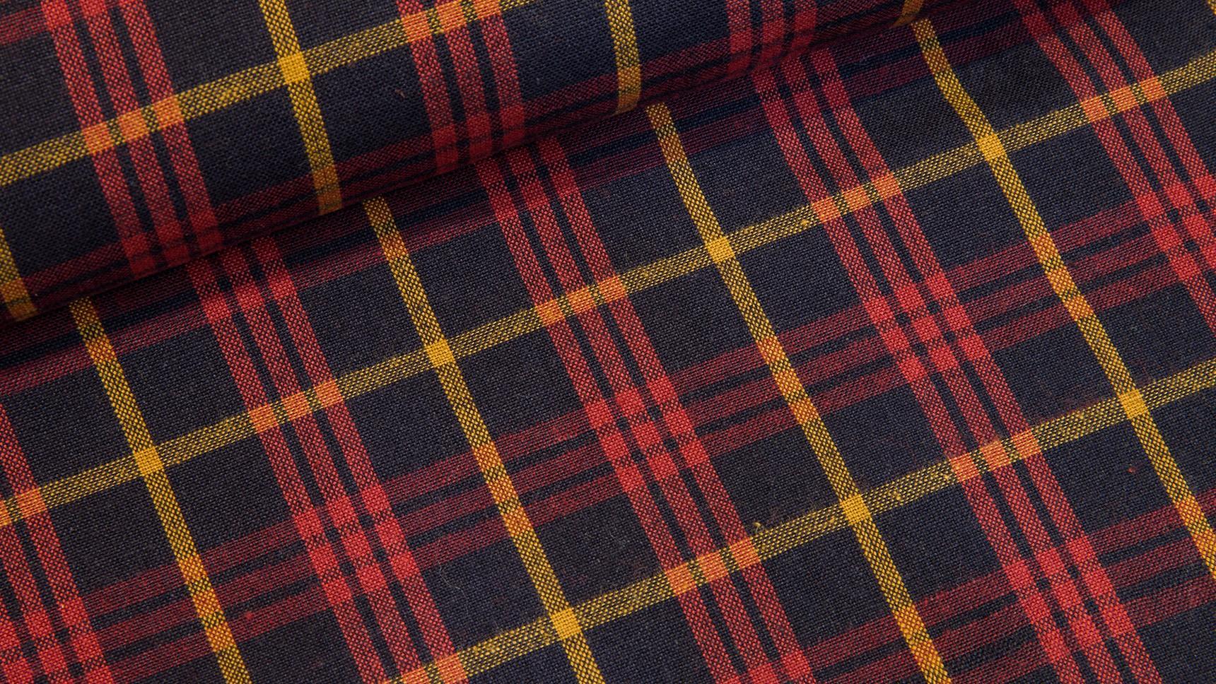 Tecido Country Escocês - Vermelho