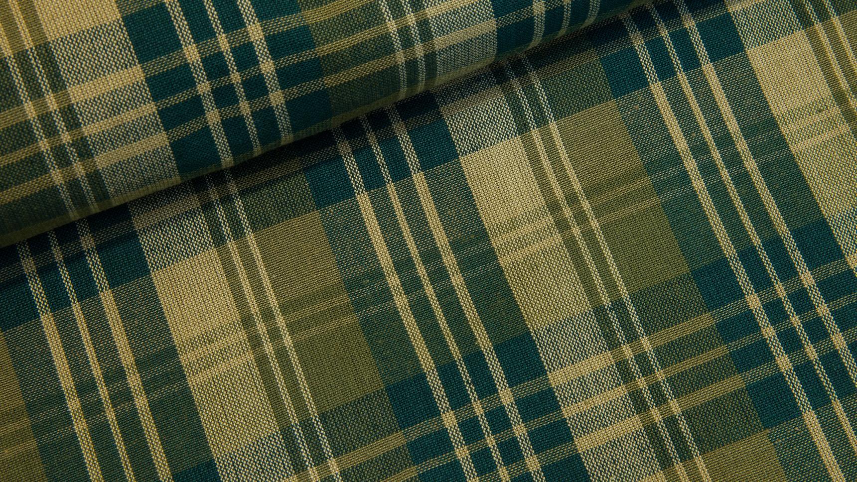 Tecido Country Escocês - Verde