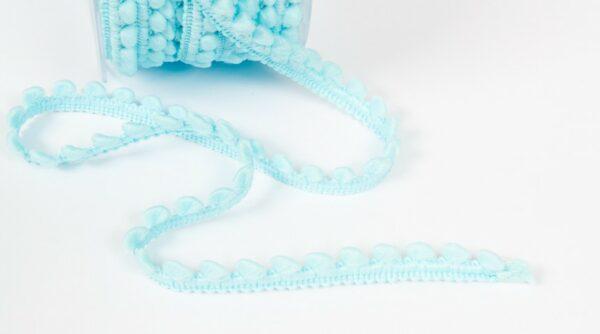 Mini Pompom - Azul Bebe