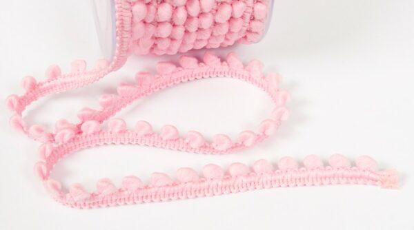 Mini Pompom - Rosa Bebé