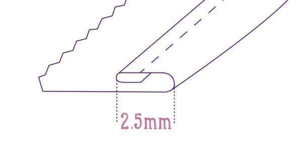 Sola de Embainhar - 2.5mm