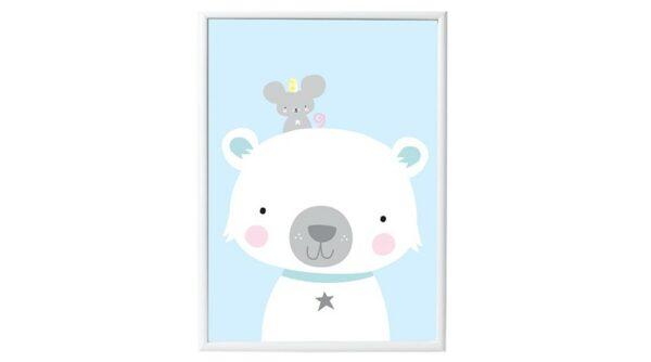Poster - Urso Polar e os Amigos
