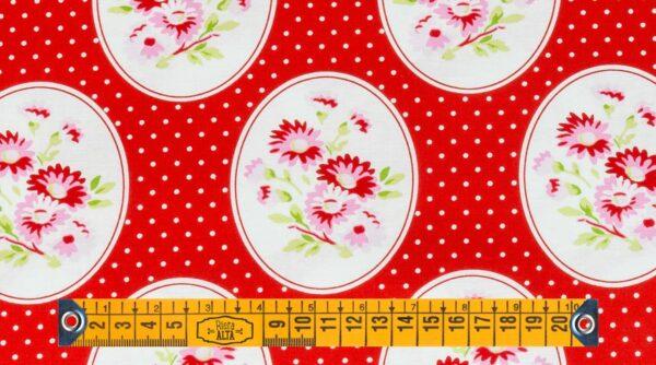Grannie's Wallpaper - Red