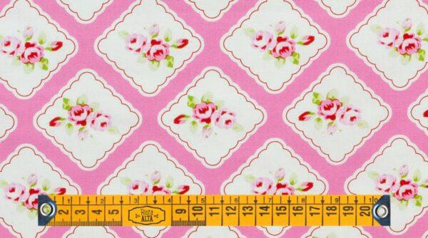 Framed Rosebuds - Pink