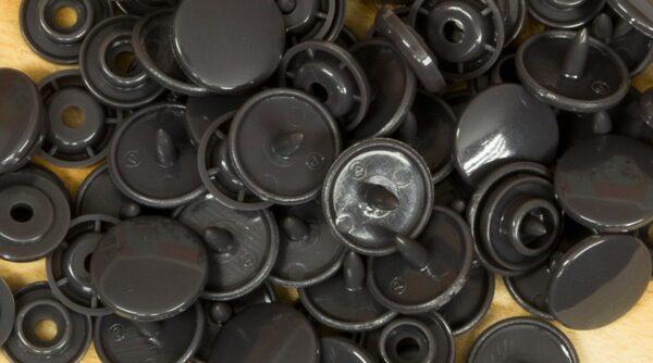 Pack de Molas de Pressão - Cinza Escuro