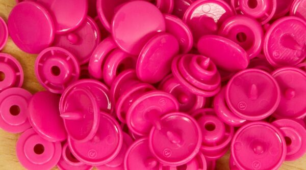 Pack de Molas de Pressão - Rosa Forte