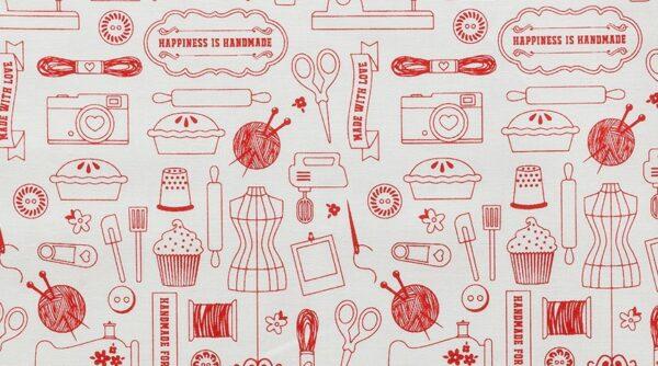 Hapiness is Handmade - Homemade Red