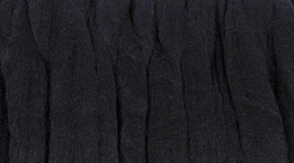 Lã Merino para Feltrar - Preto