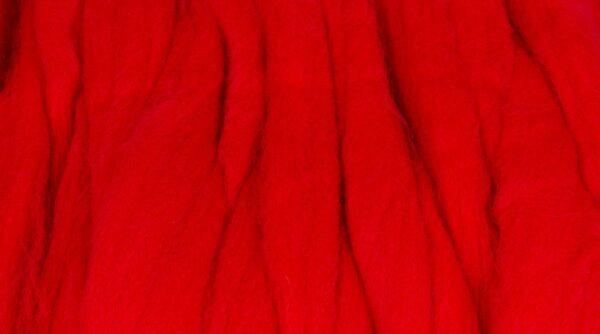 Lã Merino para Feltrar - Vermelho