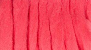 Lã Merino para Feltrar - Rosa Forte