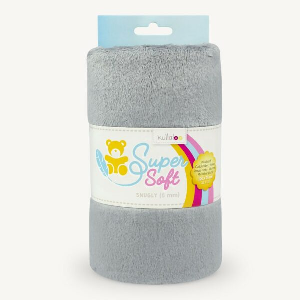 SuperSoft Snugly - Cinza Prateado