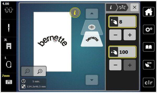 Bernette B70 Deco - Brevemente