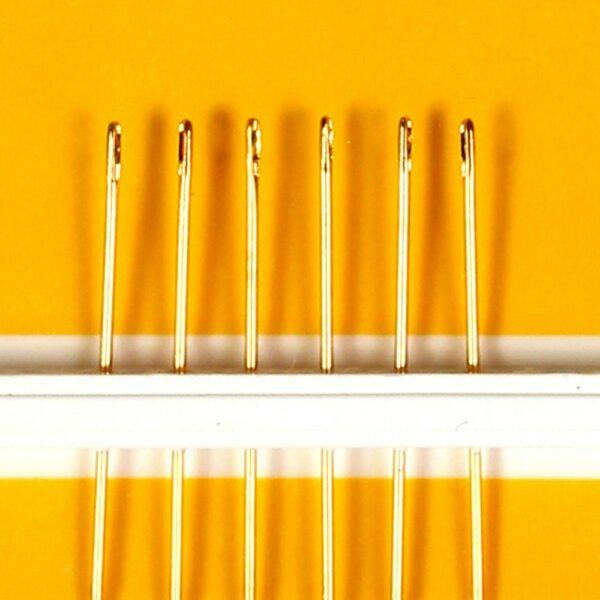 Agulhas de Ouro p/ Acolchoar