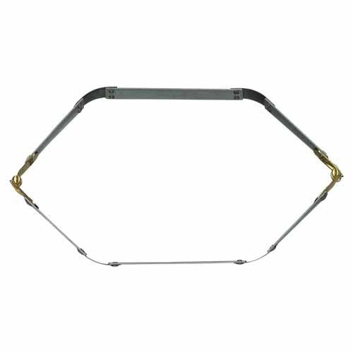 Fecho Flexível Hexagonal para Malas