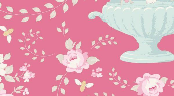 Tilda - Happy Campers - Flowerbees Rose