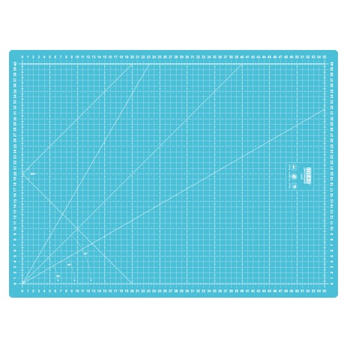 Base de Corte Azul 55m x 40cm