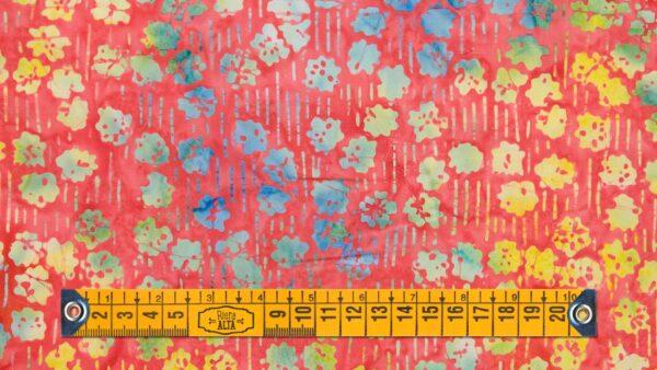 Batik Flores do Arco Irís