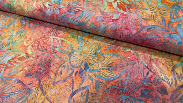 Batik Flor em Cor