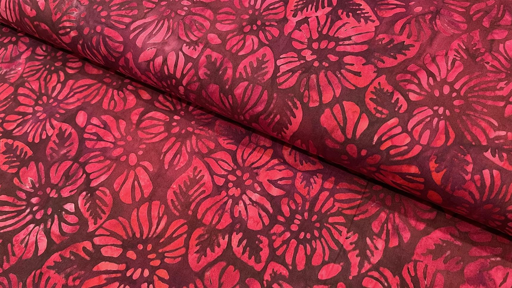 Batik Flowered