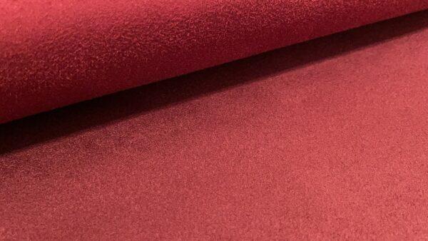 Tecido Pele de Pêssego - Mar Vermelho
